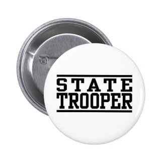 State Trooper Pinback Buttons
