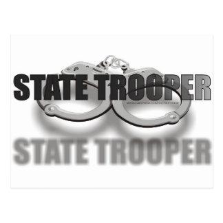 STATE TROOPER POSTCARD