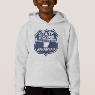 State Trooper To Protect And Serve Arkansas Hoodie