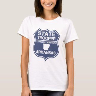 State Trooper To Protect And Serve Arkansas T-Shirt