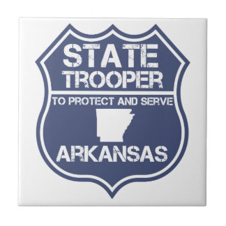 State Trooper To Protect And Serve Arkansas Tile