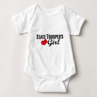 State Trooper's Girl Baby Bodysuit