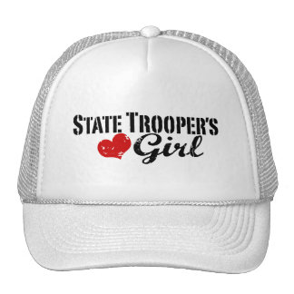 State Trooper's Girl Mesh Hats