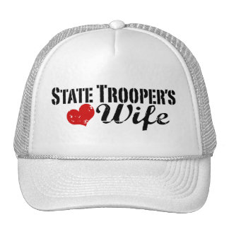 State Trooper's Wife Mesh Hats
