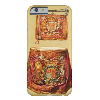 State trumpet, probably George III, and kettledrum Barely There iPhone 6 Case