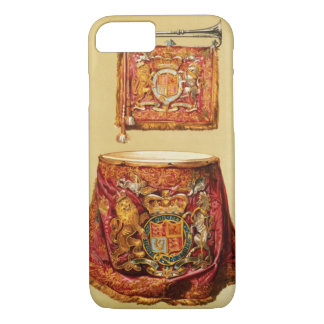 State trumpet, probably George III, and kettledrum iPhone 7 Case
