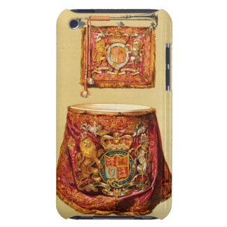 State trumpet, probably George III, and kettledrum iPod Touch Case-Mate Case