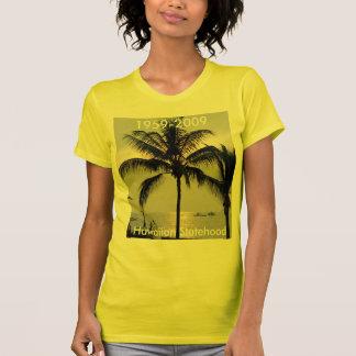 Statehood de Hawaii conmemorativo Camiseta