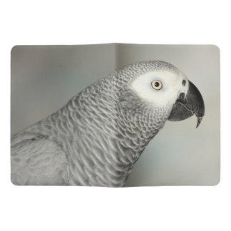 Stately African Grey Parrot Extra Large Moleskine Notebook