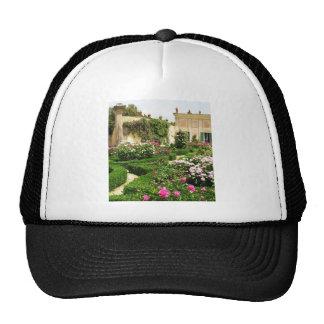 Stately and Serene Italian Rose Garden Trucker Hat