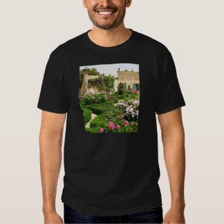 Stately and Serene Italian Rose Garden Shirt