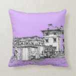 Stately museum pillow