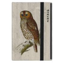 Stately Owl Custom iPad Mini Case