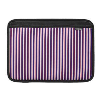 Stately Patriotic Stripes Sleeve For MacBook Air