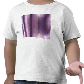 Stately Patriotic Stripes Tshirts