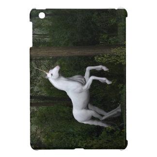 Stately White Unicorn iPad Mini Covers