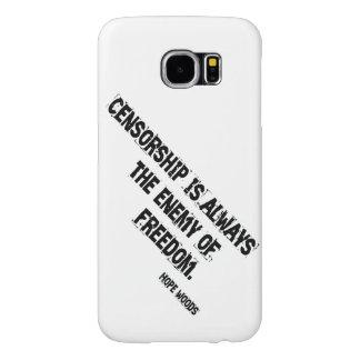 """Statement Censored"" Case Samsung Galaxy S6 Cases"