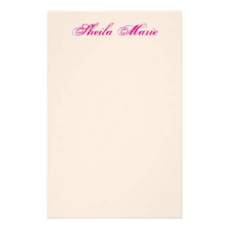 STATEMENT CORRESPONDENCE Stationery