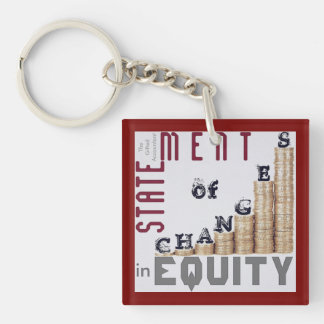 """Statement Of Changes In Equity"" Keychain"