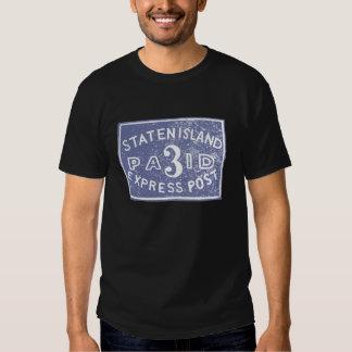 Staten Island 1849 expreso, azul Camisas