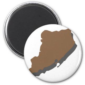 Staten Island 2 Inch Round Magnet