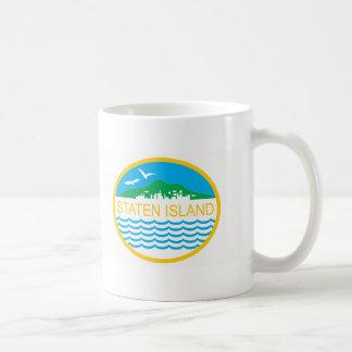 Staten Island Borough Flag Coffee Mug