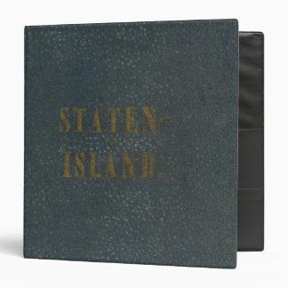 "Staten Island Carpeta 1 1/2"""