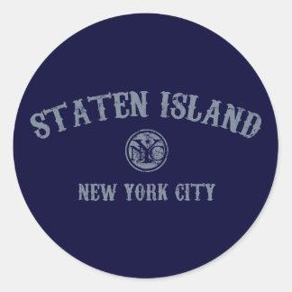 *Staten Island Classic Round Sticker
