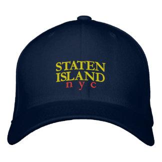 Staten Island Embroidered Hat