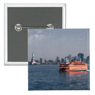 Staten Island Ferry Button