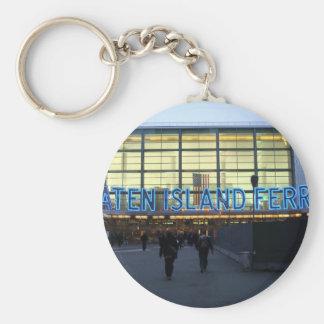 Staten Island Ferry Keychain