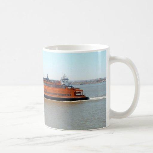 Staten Island Ferry Coffee Mugs