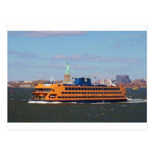 Staten Island Ferry Postcard
