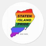 Staten Island Gay Pride1 Classic Round Sticker