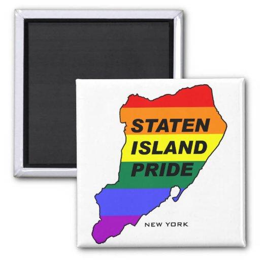 Staten Island Gay Pride1 Fridge Magnets