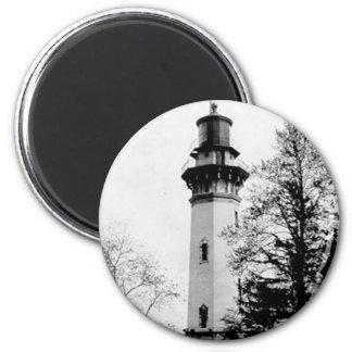 Staten Island Lighthouse 2 Inch Round Magnet