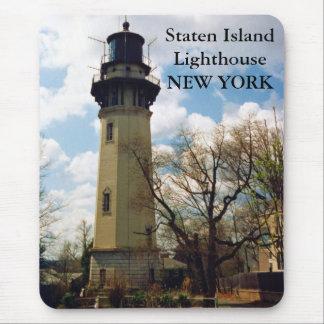 Staten Island Lighthouse, New York Mousepad