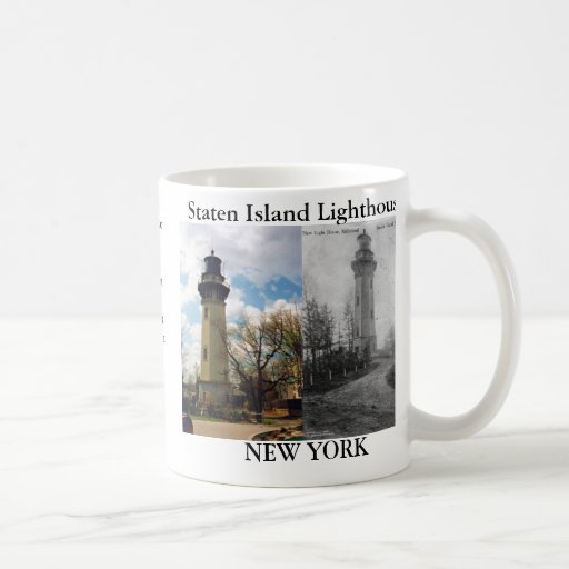 Staten Island Lighthouse, New York Mug