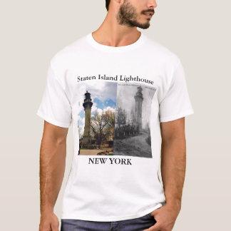 Staten Island Lighthouse, New York T-Shirt