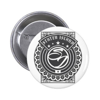 Staten Island Logo Pinback Button