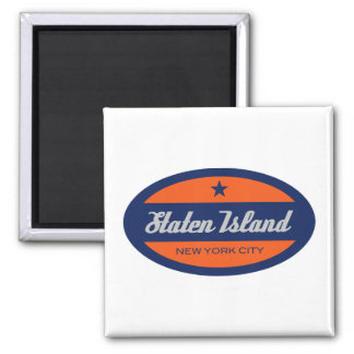 *Staten Island 2 Inch Square Magnet