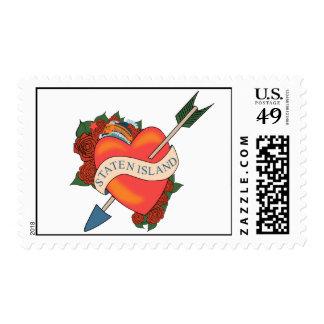 Staten Island NY stamp