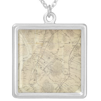 Staten Island South Square Pendant Necklace