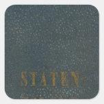 Staten Island Square Sticker