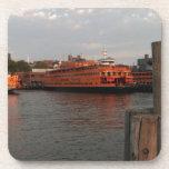 Staten Island Sunrise Beverage Coaster
