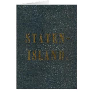 Staten Island Tarjeta De Felicitación