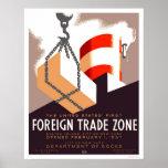 Staten Island Trade 1937 WPA Print