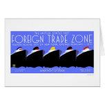 Staten Island Trade Zone 1937 WPA Greeting Cards