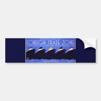 Staten Island Vintage WPA Poster Bumper Sticker