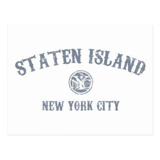 Staten la isla tarjetas postales